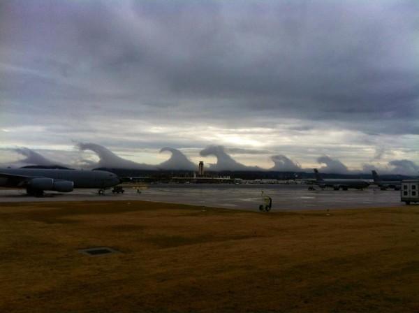 Un tsunami de nuages dans le ciel d'Alabama