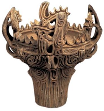Pet tisuća godina stara grnčarija iz Jomonske kulture, je puno složenija i sofisticiranija od one nastale u četvrtom vijeku nove ere. Kako je to moguće ako se društva linearno razvijaju?