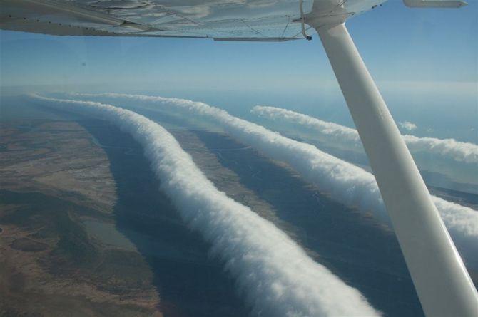 Tubularni oblaci snimljeni nad Australijom.