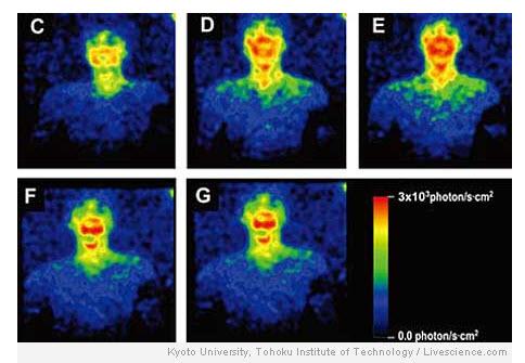 Ljudi emitiraju svjetlost koja se može snimiti na više načina.
