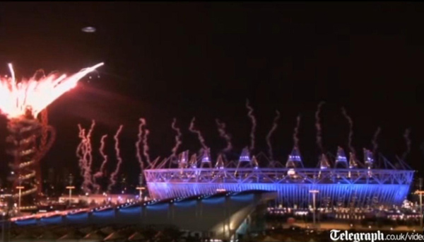 NLO nad Londonom za vrijeme otvaranja Olimpijskih igara, iako su ovom slučaju svjedočili stotine milijuna ljudi, o tome se uopće nije govorilo u znanstvenim krugovima.