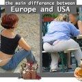 RAZLIKA IZMEĐU EUROPE I AMERIKE
