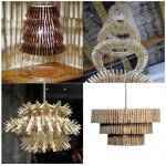 Drvene štipaljke se mogu kombinirati na puno načina, za sve to je potrebna samo vaša mašta.