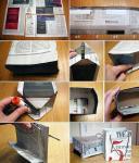 Od starog novinskog ili ukrasnog papira, uz pomoć malo ljepila, možete sami napraviti ukrasne vrećice za poklone.