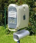 Aposolutno genijalna ideja kako da napravite efektan poštanski sandučić od starog kučišta za kompjutere.