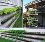 Imate kuću, nemate okućnicu, a voljeli bi imati mali cvjetnjak ili vrt. Od starih oluka možete napraviti svoj mali biljni raj.