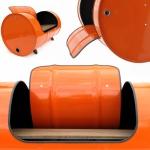 Još jedna odlična ideja za recikliranje metalnih bačava.