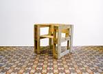 Jednostavna stolica od paleta - minimalistički eko dizajn, priznajemo da bi ovakva stolica bila puno udobnija s mekanim jastucima.