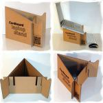 Kartonski stalak za laptop