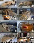 Svatko se može pohvaliti sa skupim autom poput Porcshea ako ga izradi od kartona na konstrukciji od bicikla