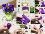 Upute za izradu cvijeća od krep papira