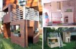 Od šperploče se može vašoj djeci izraditi odlična kućica za igranje