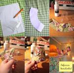 Od malih plastičnih čaša, ukrasnog papira i lampica za bor možete napraviti simpatičnu rasvjetu
