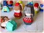 Igračke za vaše dijete ili ukrasne figurice od kartonske kutije za jaja