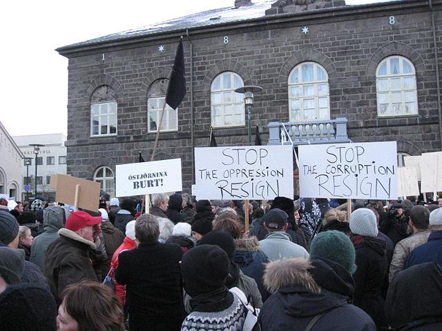 Islandska revolucija o kojoj mi ne znamo gotovo ništa.