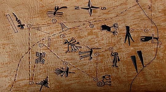 Najbolje viđeni piktogrami i teraglifi u dolini Nazca.