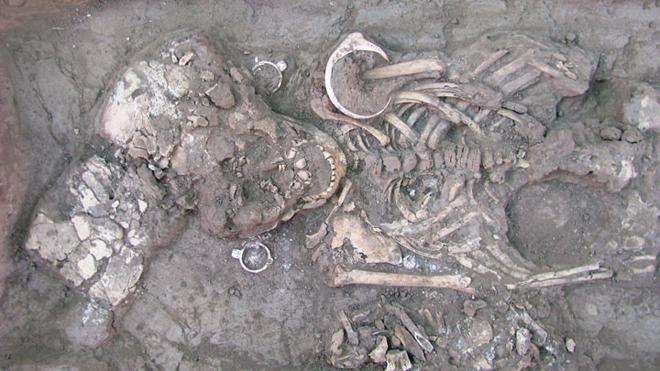 Iskapanja skeleta iz Sonore.