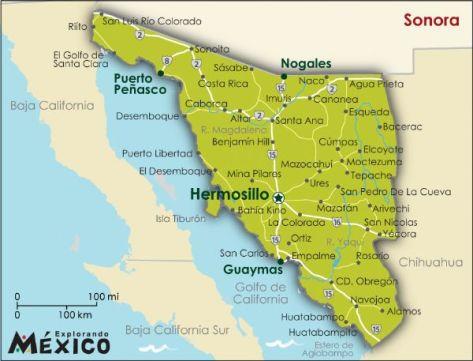 Savezna država Sonora obiluje neobičnim antropološkim ostacima.