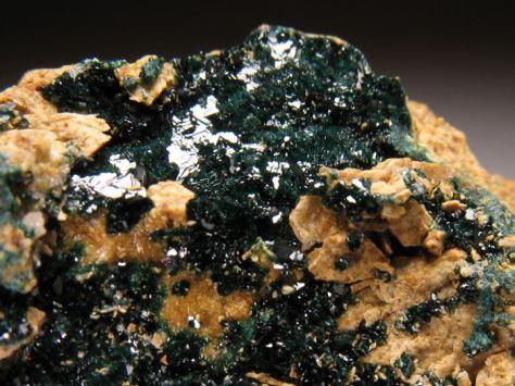 Kristali herbertsmithita iz rudnika iz San Francisca.