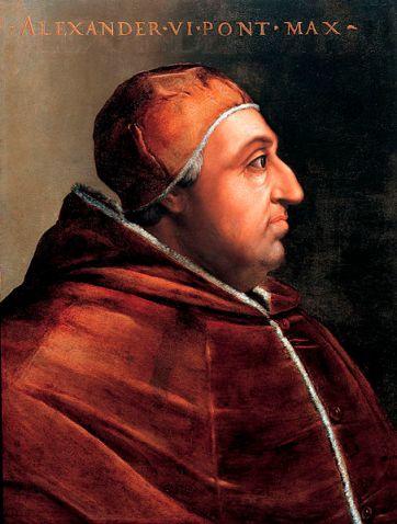 Zašto se crkva nikada nije ogradila od papa poput Aleksandra VI Borgie?