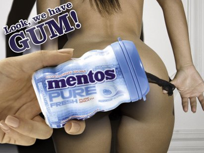 Mentos-Pure-Fresh-Gum-Gets-Dirty-With-These-Sexy-Ads-PICTURES_0