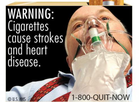 Američka državna kampanja u kojoj se ukazuje kako pušenje uzrokuje nastanak moždane kapi i srčanih bolesti.