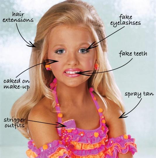 Petogodišnja Rebecca Salisbury je morala proći cijeli niz operativnih tretmana kako bi zadovoljila bolesnu potrebu roditelja za pobjeđivanjem na natjecanjima za ljepotu.