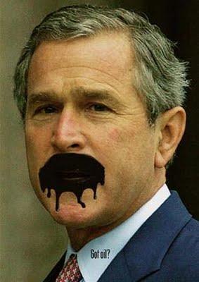 """U vrijeme kada se nitko nije usudio pisnuti protiv G. W. Busha, Glasner je vodio najpoznatiju kampanju protiv ovog predsjednika SAD-a. Parodija na reklamu """"Got a milk?""""."""