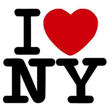 Najpoznatiji turistički logo svih vremena, rad Miltona Glasera.