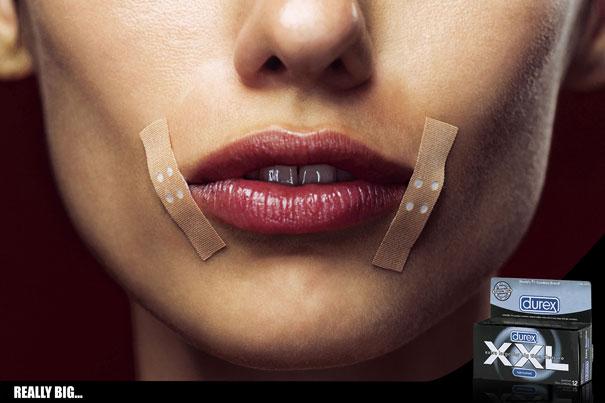 Potpuno neukusna i vulgarna reklama Durexa.