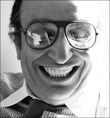 Milton Glaser snimljen 80-tih godina XX vijeka.