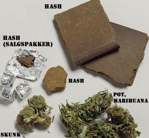 Sojevi marihuane s različitim razmjerima THC-a i kanabidiola.