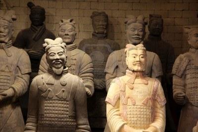 Dio terakotnih vojnika cara Qin Shi Huanga.