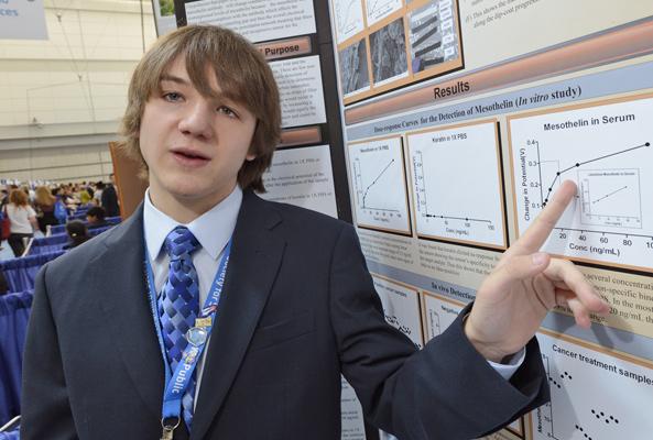 Jack objašnjava svoj znanstveni rad .