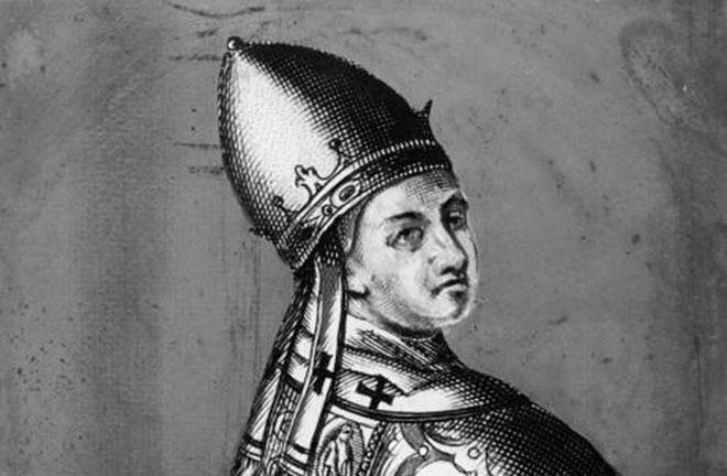 Papa Benedikt IX.