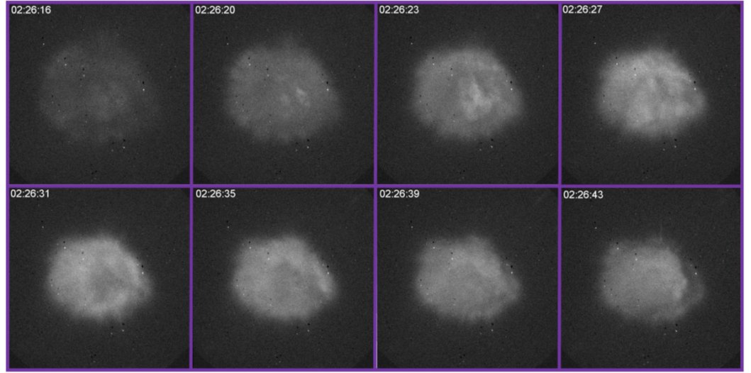 Oblak plazme stvoren s HAARP tehnologijom.
