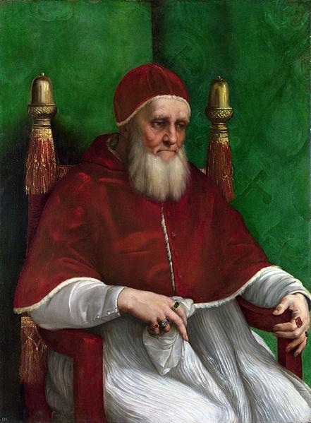 Papa Julije II, je prvi pontifeks koji je obolio do sifilisa.