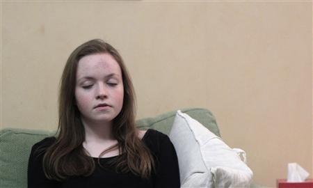 Emelie Olsson iz Švedske, jedna je od 800 djece koja pate od narkolepsije kao posljedica primljenog cjepiva Pandemrix.