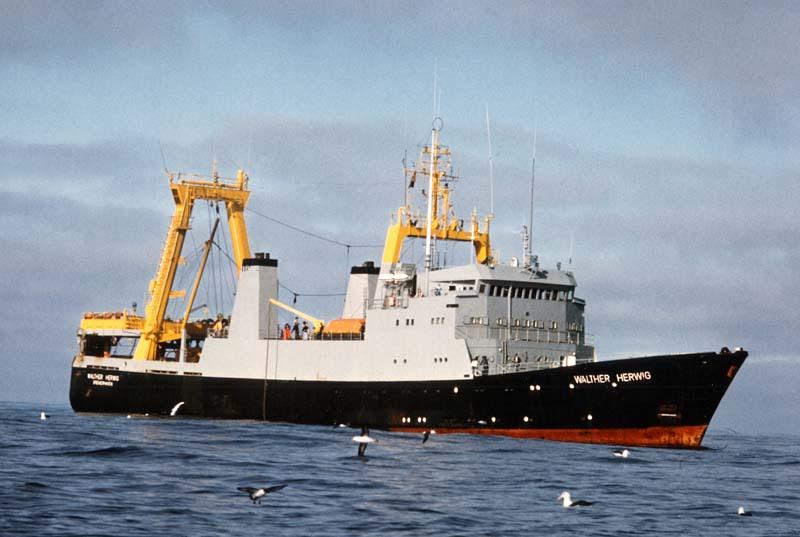 Istraživački brod Walter Herwig.