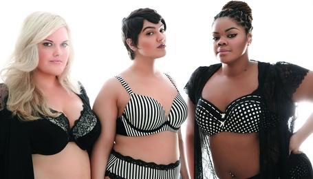 Sve češće se za reklame ženskih odjevnih predmeta koriste žene koje imaju uobičajene mjere, i težinu.