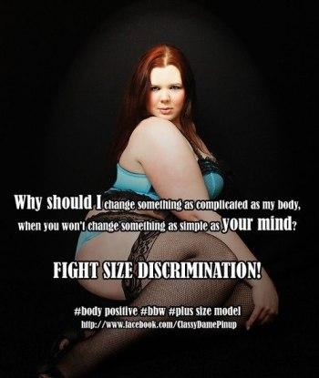 Sve su češće ovakve i slične PR kampanje u kojoj se žene bore protiv anoreksične i bulimične predstave ženskog tijela.