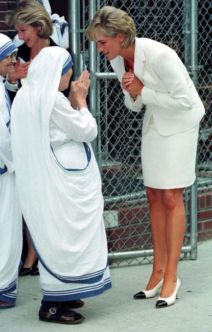 Princeza Diana je bila veliki obožavatelj Majke Terezije koja joj je dala blagoslov za rastavu od princa Charlesa.