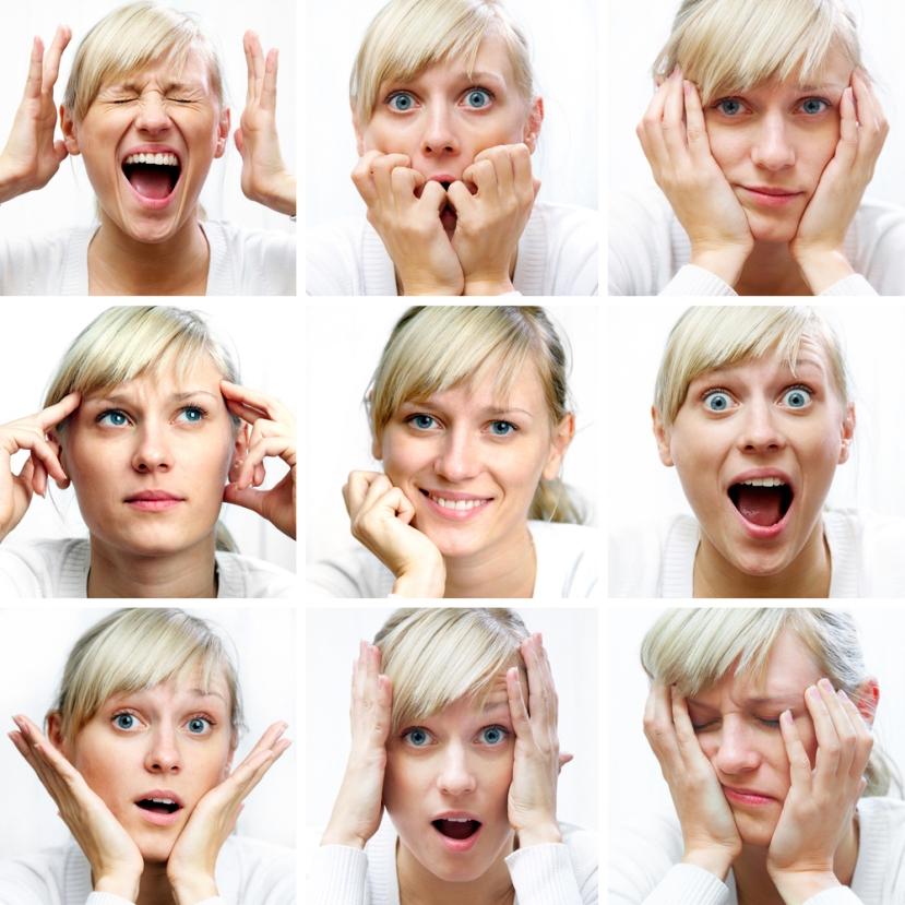 Možete li prepoznati i imenovati osjećaje prikazane na slici?