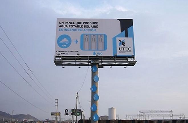 Jedinstvena ideja skupljanja pitke vode uz pomoć kondenzacije iz zraka.
