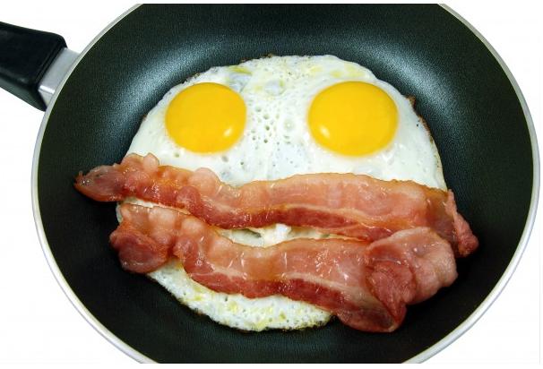 Jedna od najčešćih varijanti doručka ketogene prehrane.