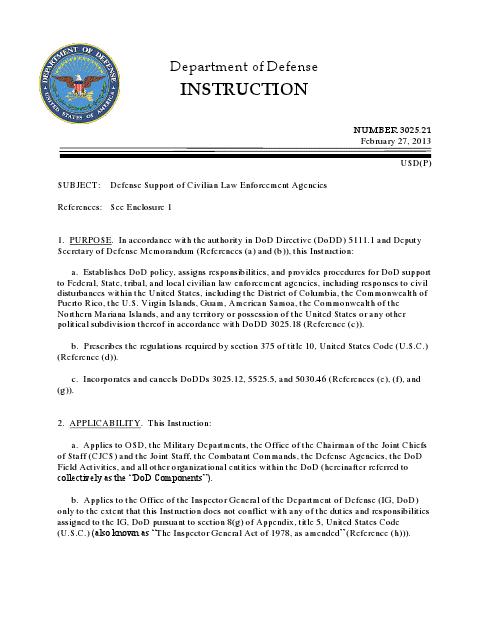 Najnovija odredba Ministarstva Odbrane SAD-a. Cijeli dokument možete pročitati ovdje.