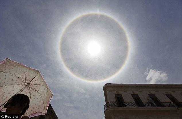 Havana se fenomenom koji je rezerviran za polarne i subpolarne predjele planete.