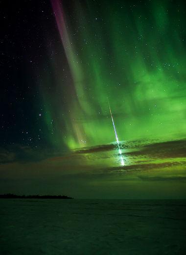 Eksplozija meteora nad Winipegom,