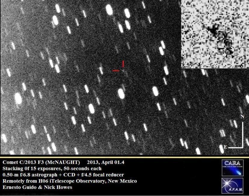 Kometa C2013 F3.