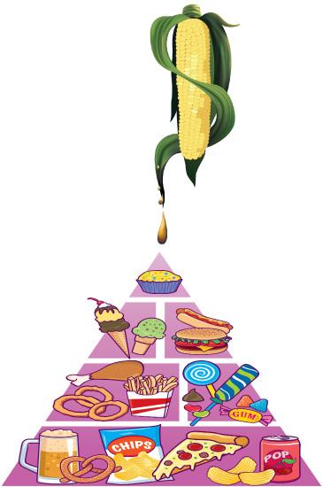 Visoko fruktozni kukuruzni sirup je uobičajeni sastojak mnogih pića ali i hrane, Jer je jeftin za proizvodnju, te osigurava dobar profil proizvođačima, može se naći u velikom broju namirnica.